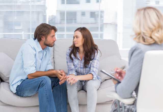 Пара на психотерапии